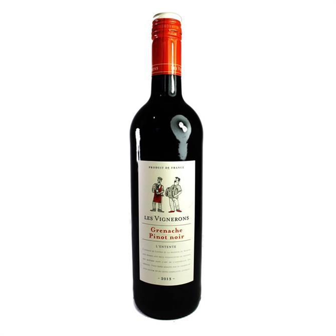 Les Vignerons Grenache/Pinot Noir, Southern France