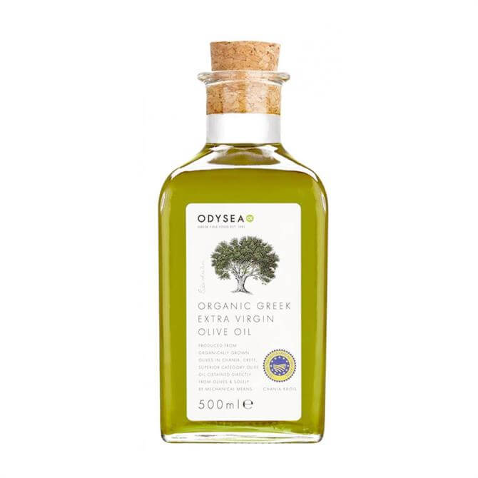 Odysea Organic Greek Extra Virgin Olive Oil 500g