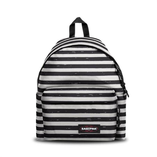 Eastpak Padded Pak'r Backpack - Stripe-it Black