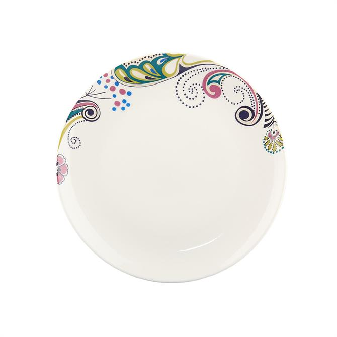 Denby Monsoon Cosmic Salad Plate: Cream