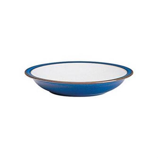 Denby Imperial Blue Rimmed Bowl
