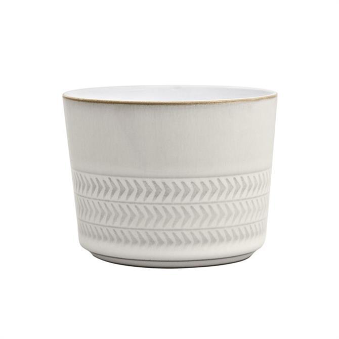Denby Natural Canvas Textured Sugar Bowl / Ramekin