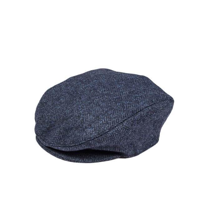 Dents Abraham Moon Yorkshire Tweed Flat Cap