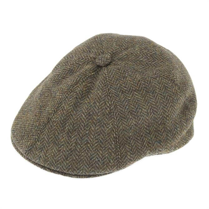Dents Abraham Moon Yorkshire Tweed Drivers Cap