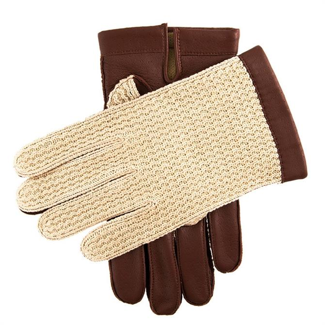 Dents Cotswold Lined Crochet Driving Gloves