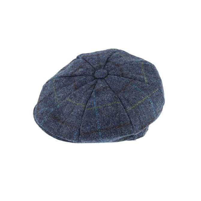 Dents Abraham Moon Tweed 8 Piece Cap
