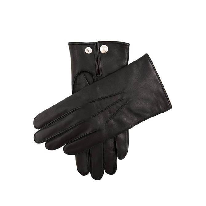 Dents Burford Men's Cashmere Lined Leather Gloves
