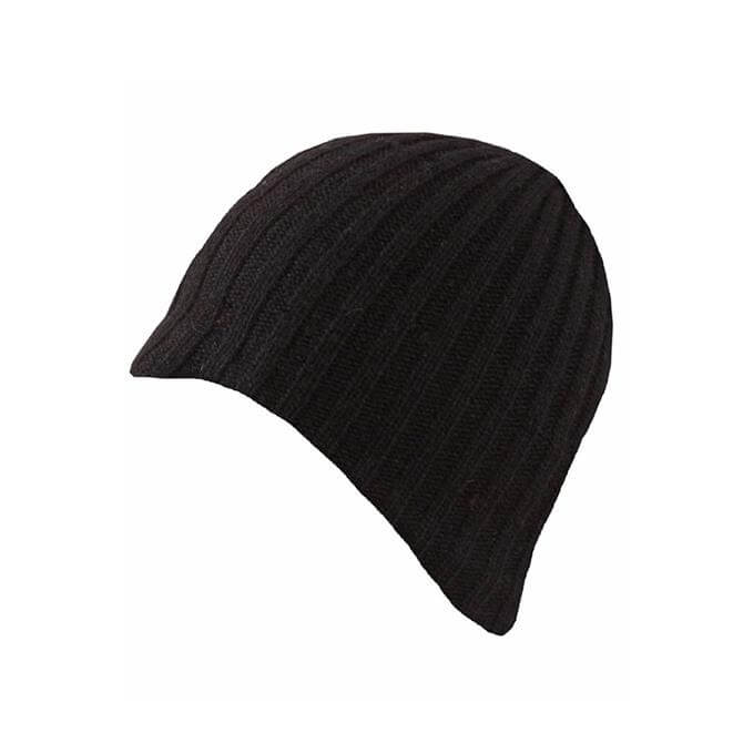 Dents Men's Lambswool Blend Knitted Beanie Hat