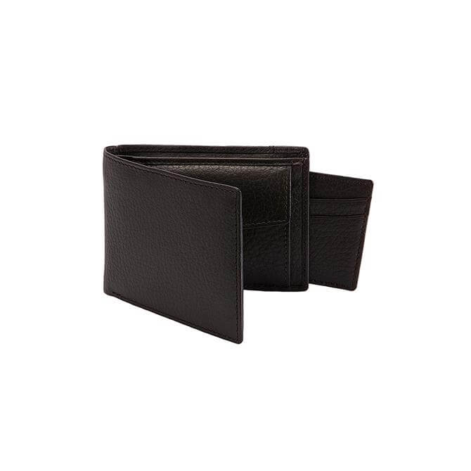 Dents Leather Billfold Wallet and Removable Credit Card Holder with RFID