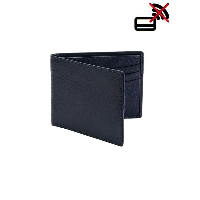 Dents Pebble Grain Leather Billfold Wallet with RFID