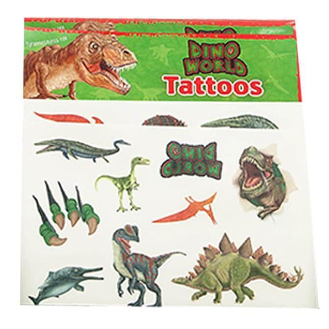 Depesche Dino World Assorted Tattoos