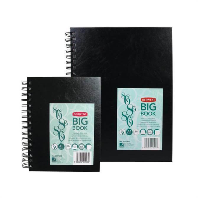Derwent Big Book Spiral Portrait Sketchbook