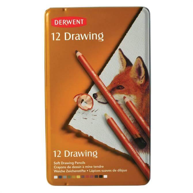 Derwent Drawing 12 Pencil Tin