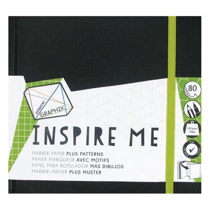 Derwent Graphik Inspire Me Sketch Book