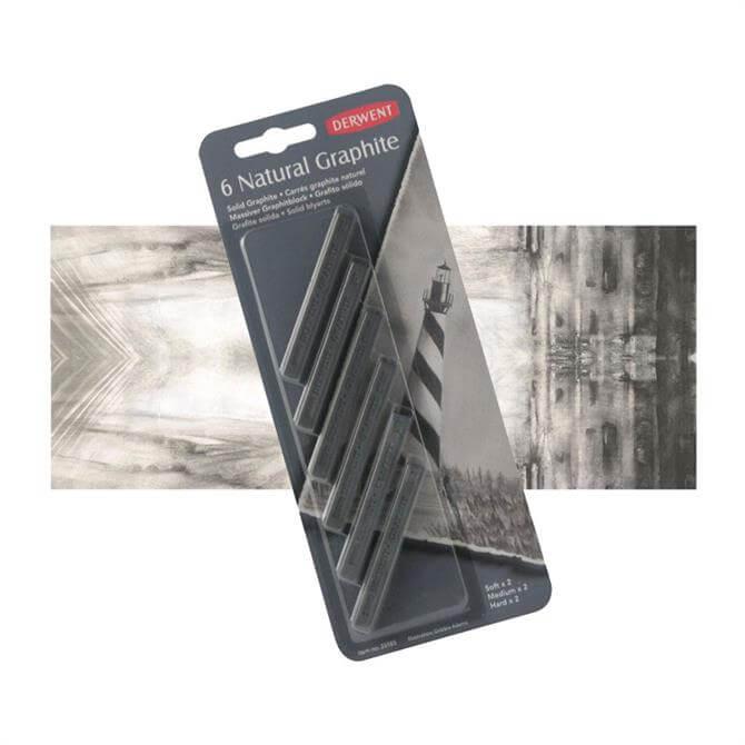 Derwent Natural Graphite Blocks - Medium