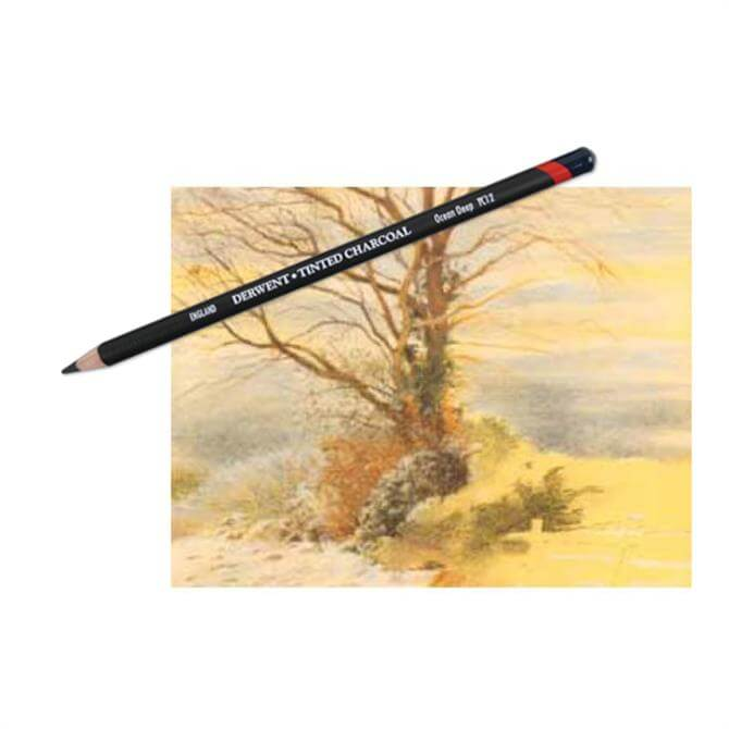 Derwent Tinted Charcoal Pencils - Assorted