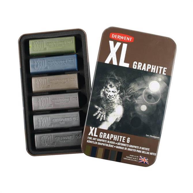 Derwent XL Graphite 6 Tin
