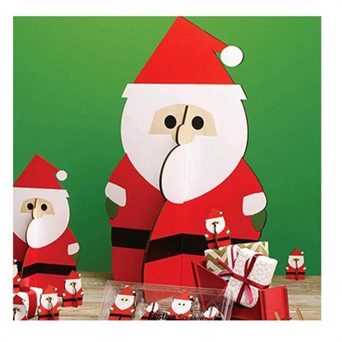 Design Ideas Festive Santa - Large