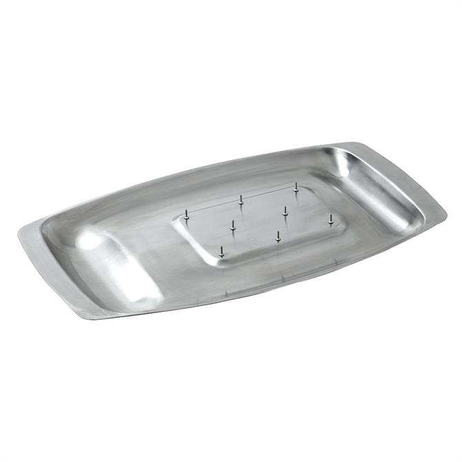 Dexam Chichester Stainless Steel Spiked Carving Dish