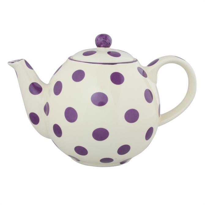 London Pottery Globe 4 Cup Spot Teapot: Various Colours