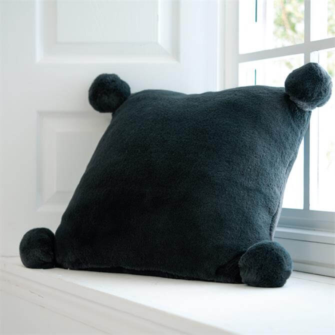 Deyongs Bolingbroke Charcoal Cushion