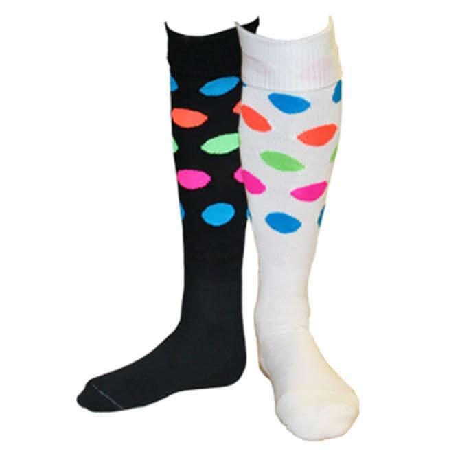 Dita Womens Daft Socks - Dots