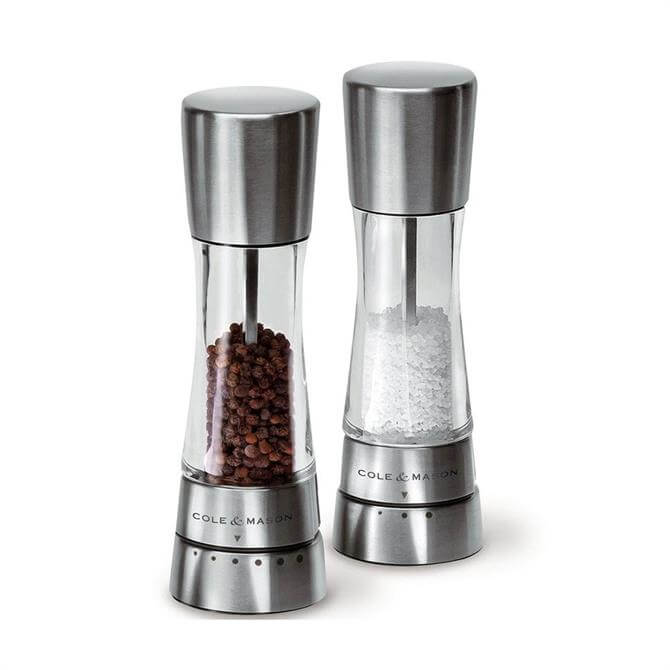Cole & Mason Derwent Salt & Pepper Mill Gift Set 190mm