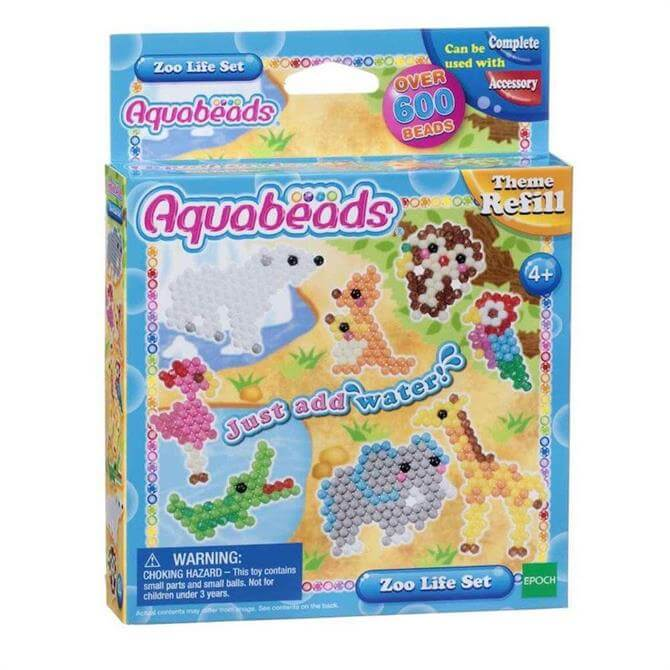 Aquabeads Refills Zoo Life Set 31078