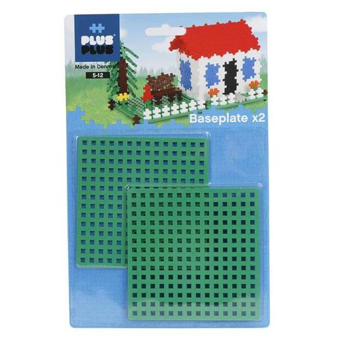 Plus Plus Base Plate Duo Pack