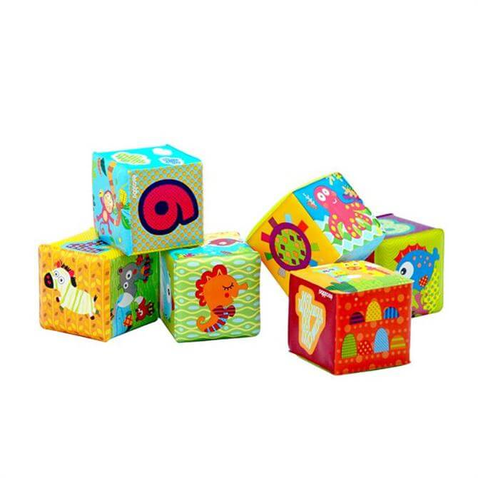Escabbo Soft Numbered Cubes (Set of 6)