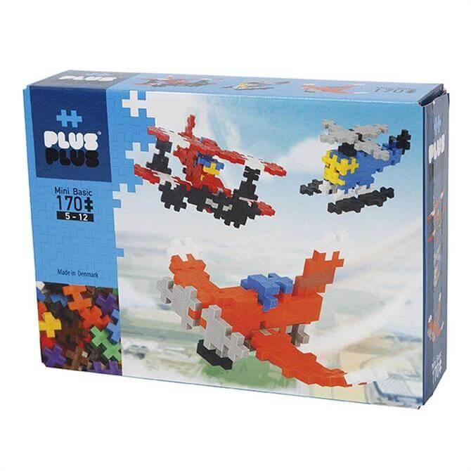 Plus Plus Mini Basic Airplane 170 Pieces