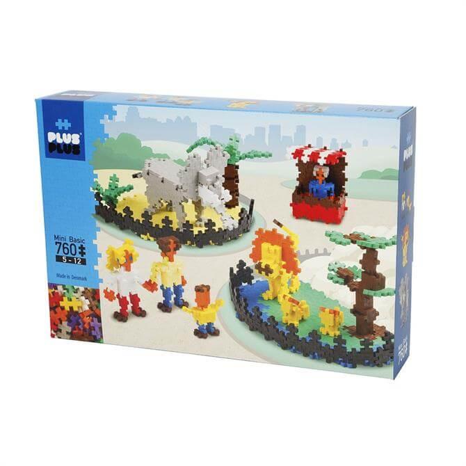 Plus Plus Standard Zoo 760 Piece Set