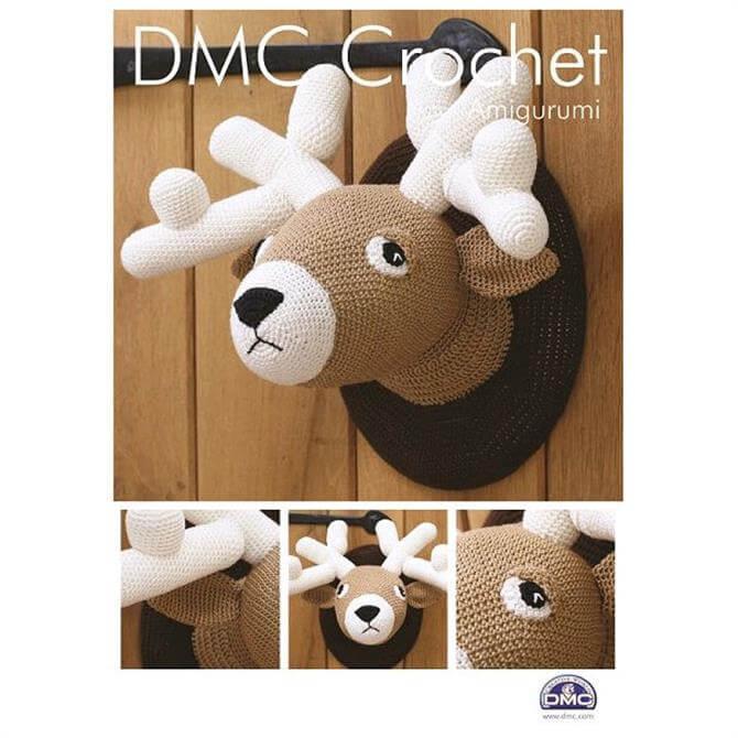 DMC Stag Head Amigurumi Crochet Pattern