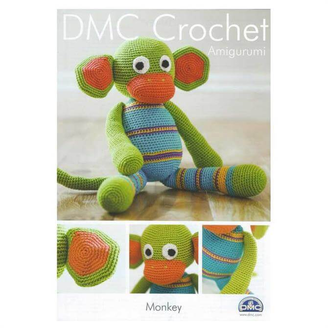 DMC Amigurumi Monkey Crochet Pattern