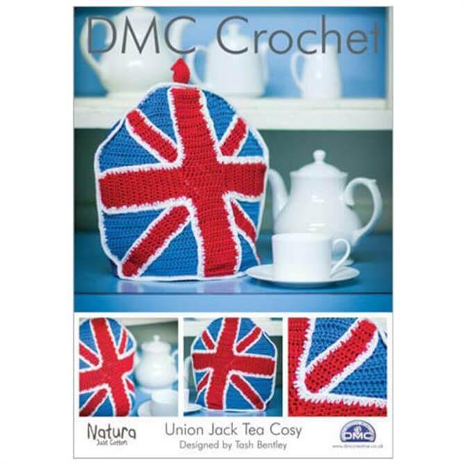 DMC Union Jack Tea Cosy Crochet Pattern
