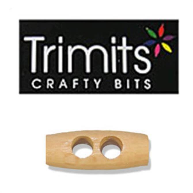 Trimits 2-Hole Wooden Toggle