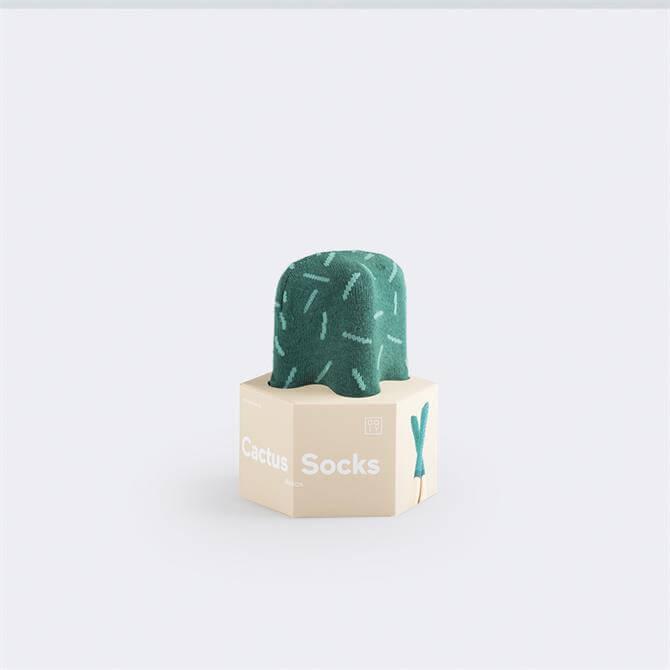 Doiy Cactus Astros Socks