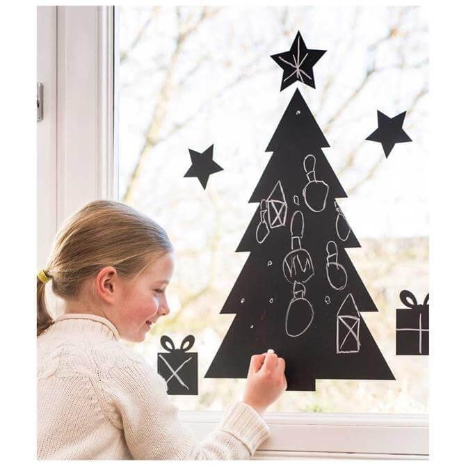 Donkey Chalkboard Christmas Tree