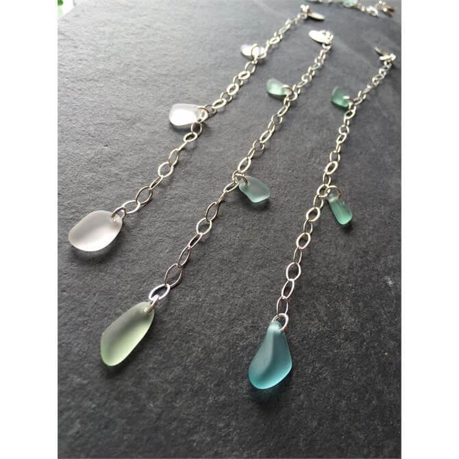 Drift Sea Glass Charm Bracelet
