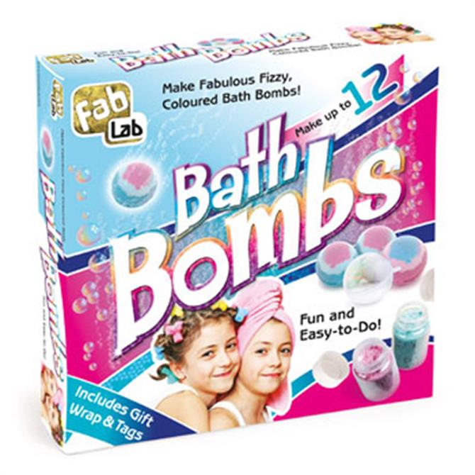 Craft Box Bath Bombs Kit