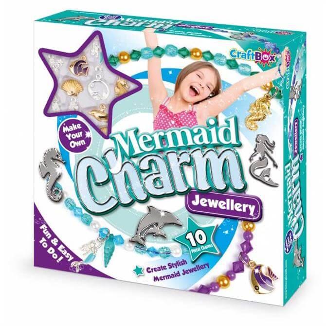 Craft Box Mermaid Charm Jewellery Kit