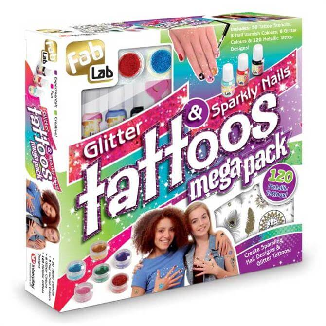 Interplay Glitter Tattoo Megapack