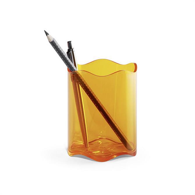 Durable Translucent Pen Cup
