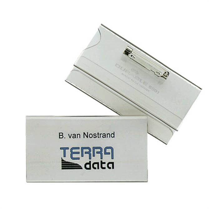 Durable Universal Name Badge - Pack of 5