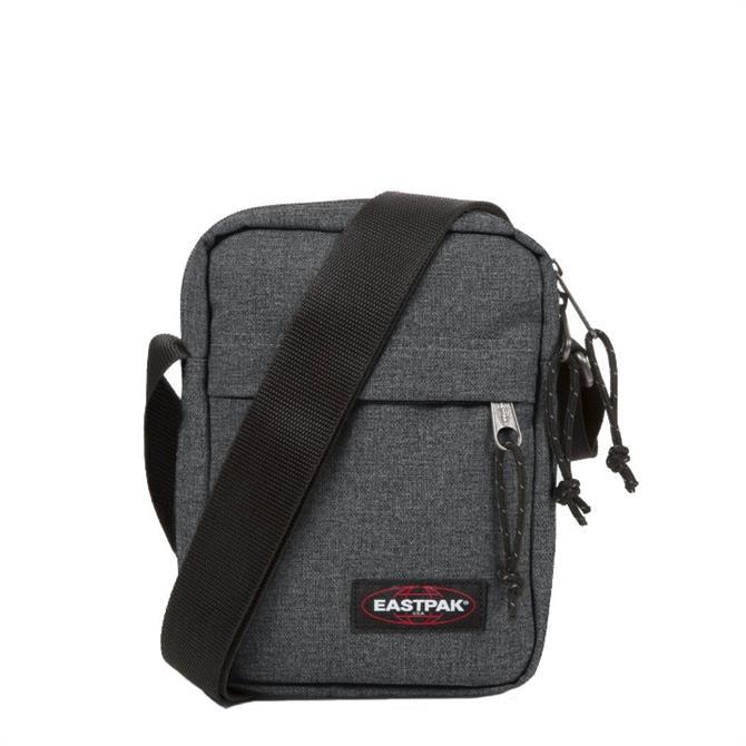 Eastpak 'The One' Small Shoulder Bag- Black Denim
