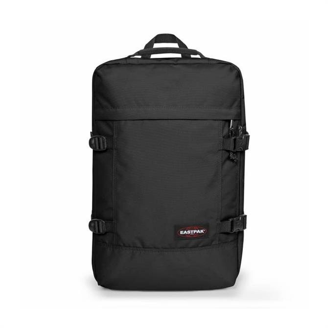 Eastpak Tranzpak Black Duffle Backpack