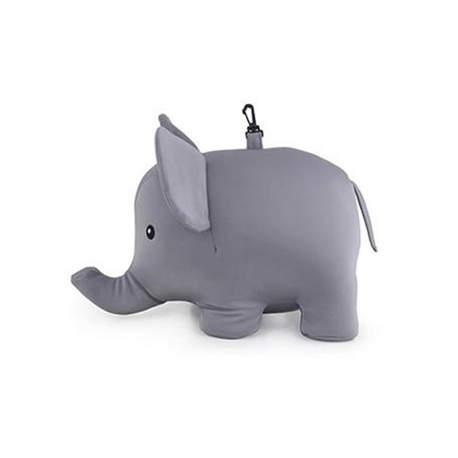 Kikkerland Zip And Flip Elephant Neck Pillow