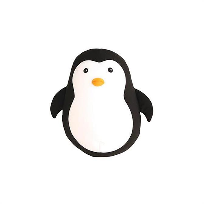 Kikkerland Zip and Flip Penguin Travel Neck Pillow