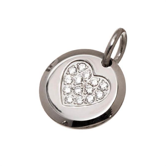 Edblad Charmentity Steel Heart Charm