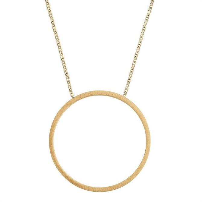 Edblad Circles Matt Gold Necklace